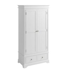Sally Classic White 2 Door Wardrobe-0