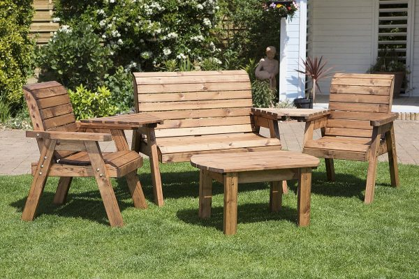 Four Seater Entertainment Patio Drinks Set-66