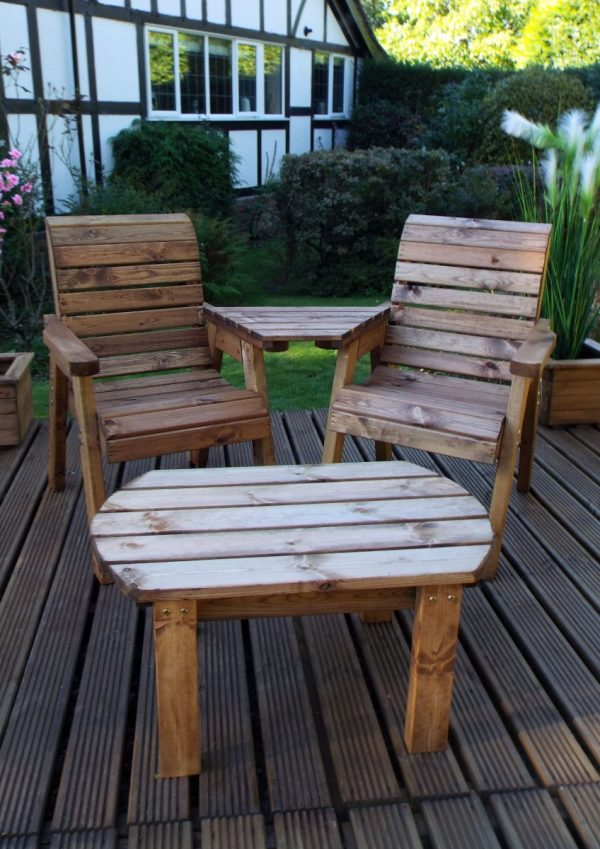 Four Seater Entertainment Patio Drinks Set-72