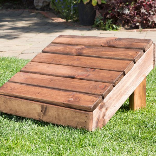 Traditional Garden / Patio Footstool-49