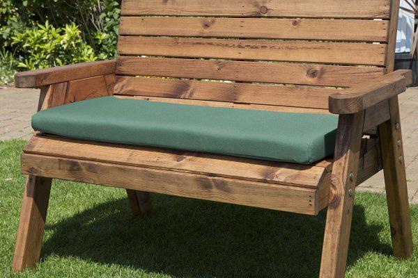 2 Seat Green Bench Cushion-0