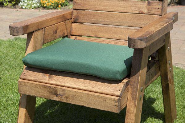 Single Chair Cushion in Green-0