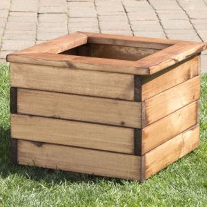 Small Square Planter-0