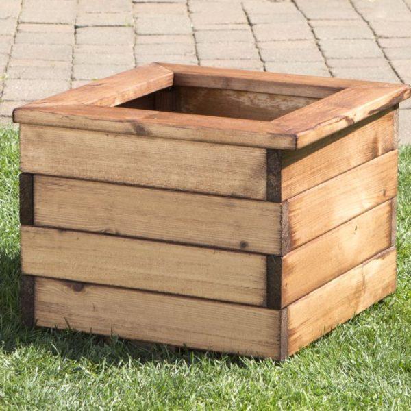 Small Square Planter-0