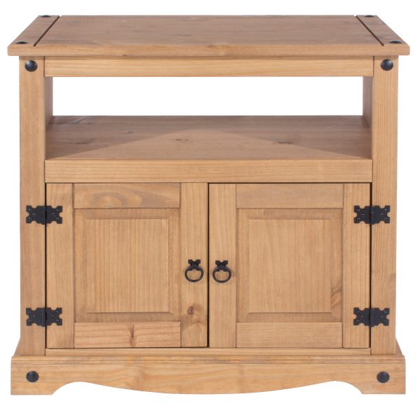 Farmhouse Antique Pine TV Cabinet-0